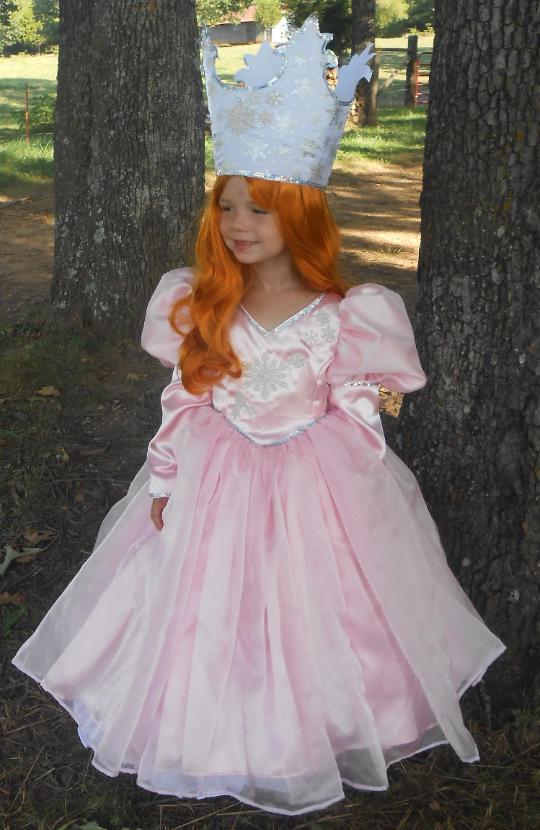 WeHaveCostumes Quality Homemade Glinda Wizard OZ Halloween Costume